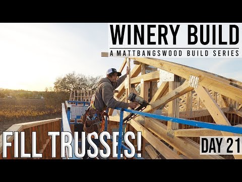 Installing Mono-Trusses On Roof Section! [DAY 21]