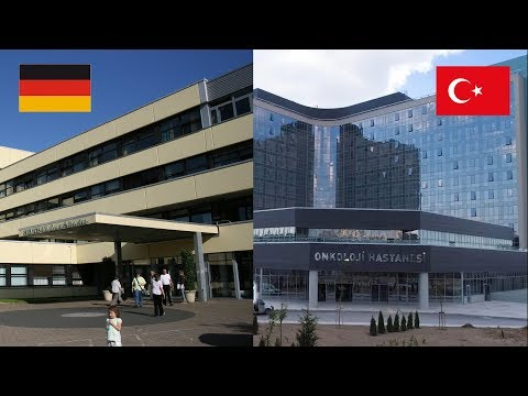 Germany Hospital VS Turkey Hospital