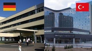 Germany Hospital VS Turkey Hospital