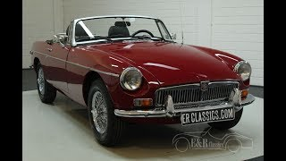 MG B cabriolet 1977-VIDEO- www.ERclassics.com