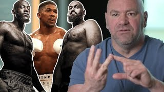 Dana White goes on passionate rant about Fury, Wilder, Joshua, heavyweight boxing