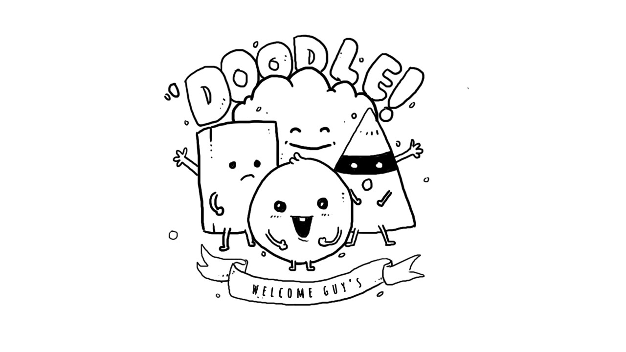 simple doodle art for beginners