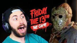 STOP WITH THE AXE!! | Friday The 13th The Game - Gameplay & Funny Moments