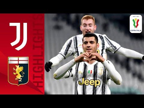 Juventus Genoa Goals And Highlights