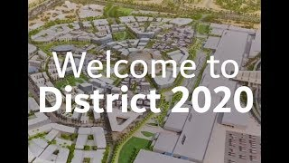 Welcome to District 2020