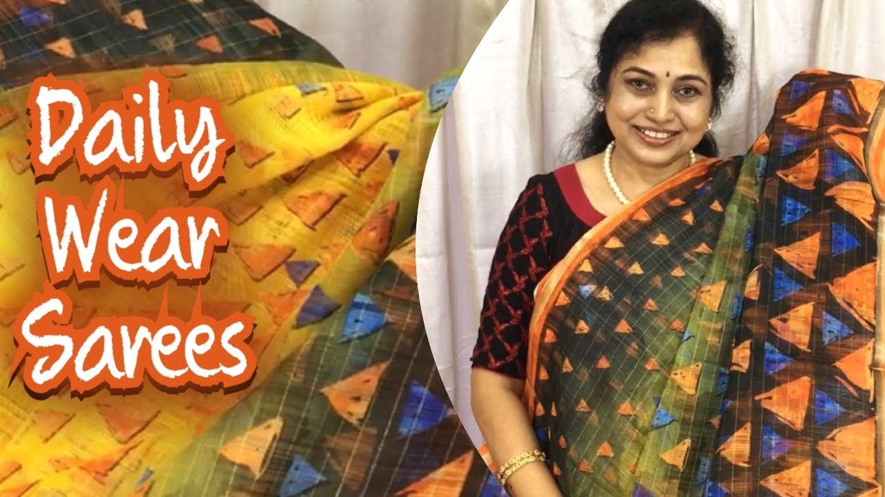 Daily wear sarees ,Surekha Selections,Vijayawada,