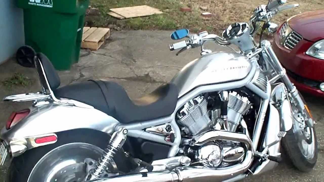 2002 Harley-davidson Vrsca V-rod Walk Around