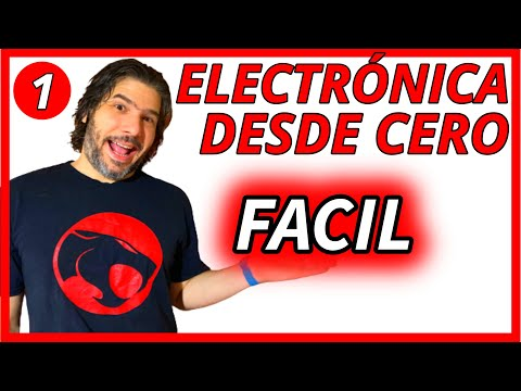#1 - Curso de electrónica - Corriente - Tensión - Resistencia - La base de todo