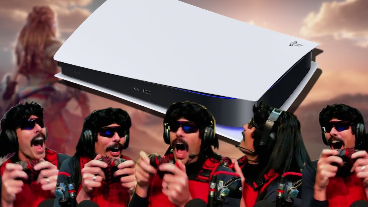 DrDisrespect REACTS TO SONY'S PLAYSTATION 5 REVEAL