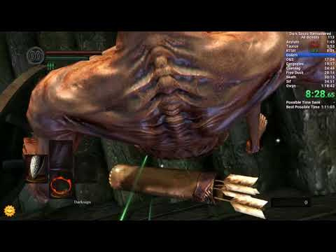Dark Souls Remastered All Bosses in 1:13:14 IGT