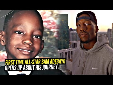 Bam Adebayo Opens Up About His Incredible Basketball Journey! From a Kid in Jersey to NBA All-Star!