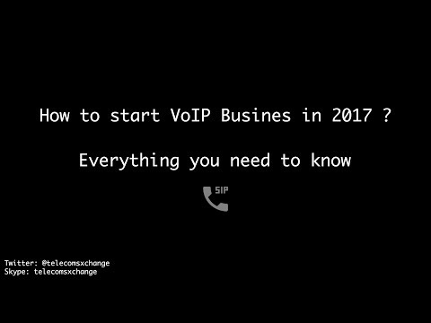 How to start VoIP Wholesale Business in 2017