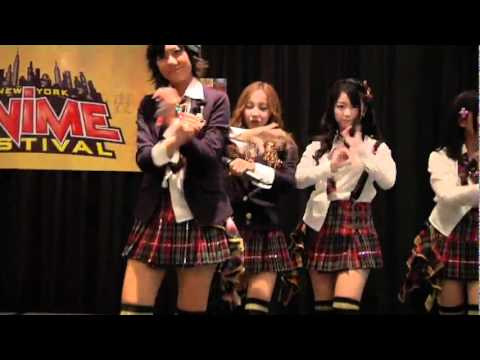 AKB48 言い訳maybe live New York anime festival