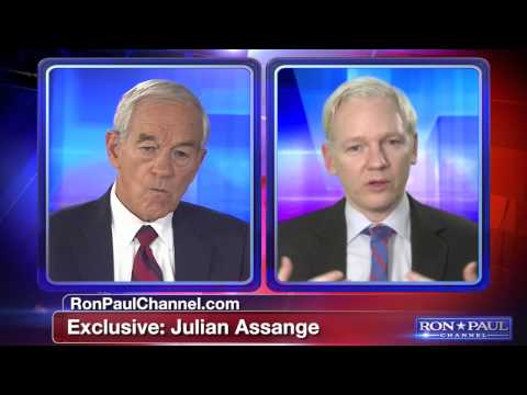 Julian Assange talks to Ron Paul part 1