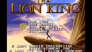 The Lion King - Lion King, The (SNES) - Vizzed.com __That Retro Game Music - User video