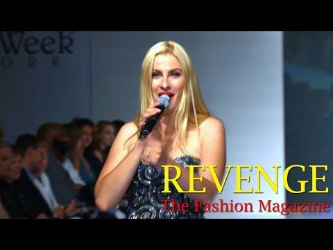 Julia Saleno Performing @ Couture Fashion Week (Sept. 2016)