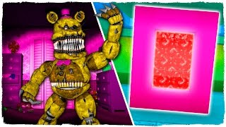 COMO HACER UN PORTAL A LA DIMENSI N DE FIVE NIGHTS AT FREDDY S 4 MINECRAFT FNAF 4