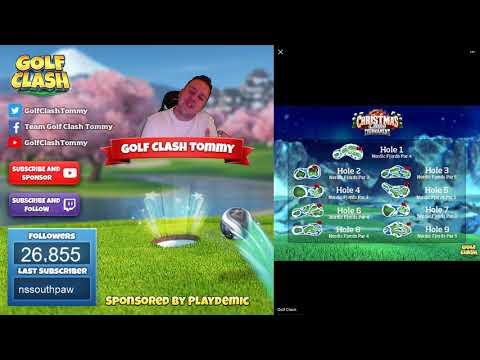 Golf Clash, Tournament Reveal - CHRISTMAS LINKS Tournament! Starts 24th of December!