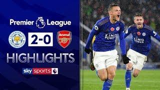 Jamie Vardy & James Maddison sink Arsenal ⚡| Leicester 2-0 Arsenal | Premier League Highlights