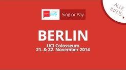 Mit Sing or Pay zum Kinogutschein: UCI Colosseum in  Berlin