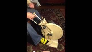 Travel Spinning Wheel - Prototype Wheel