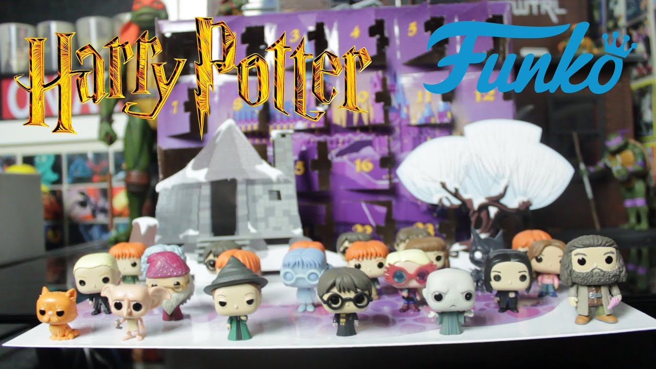 Harry Potter Advent Calendar.Harry Potter Funko Pocket Pop Advent Calendar Full Unboxing Nerd Daddy
