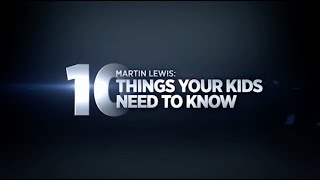 Martin Lewis on h๐w to be successful: 10 things your child should know