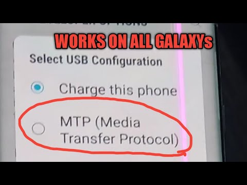 How To Enable Mass Storage Or MTP Mode On Any Samsung Galaxy