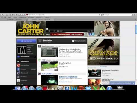 New YouTube HomePage/Channel/Page Designs - December 1, 2011
