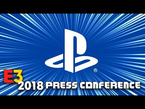 FULL SONY PLAYSTATION PRESS CONFERENCE [E3 2018] - LIVE REACTION w/runJDrun