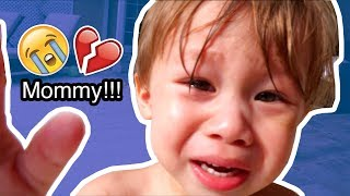 Toddler Worries For His Mom