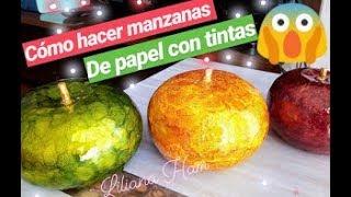 Gambar cover manzanas para centro de mesa  con tintas parte 2 (cerámica) 😍😍😍