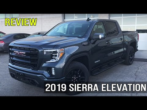 2019 GMC Sierra Elevation Edition 5.3L Crew Cab (In-Depth Review)