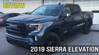 Review: 2019 GMC Sierra Elevation Edition 5.3L Crew Cab