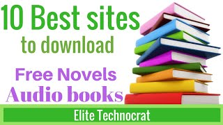 Gambar cover 10 Best sites to download novels and books for free