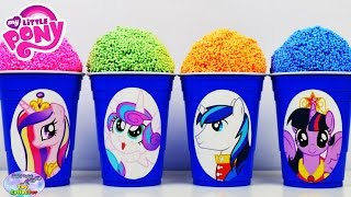 My Little Pony Surprise Cups Floam Play Foam MLP Flurry Heart Surprise Egg and Toy Collector SETC