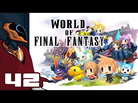 Let's Play World of Final Fantasy - PS4 Gameplay Part 42 - The Architects