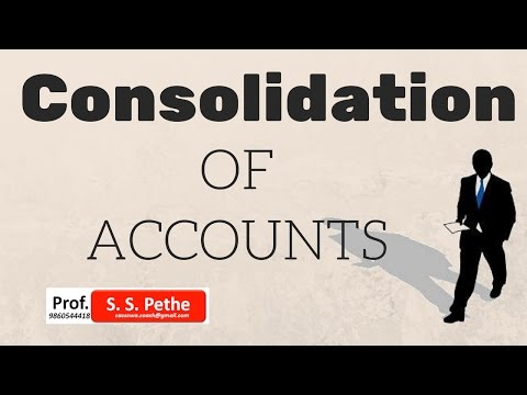 Consolidation of Accounts = Introduction CS Executive CA Fin