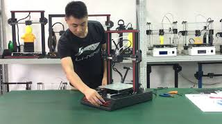 Dmscreate New DP5 3D Printer Kit Demo Video