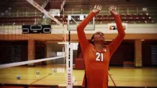 Texas Volleyball: Get your HORNS up!