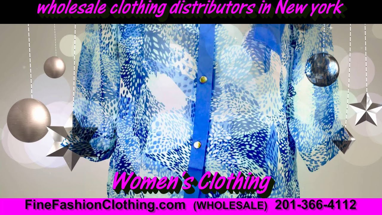 New York Clothing Wholesalers and Cheap Wholesale Clothing ...