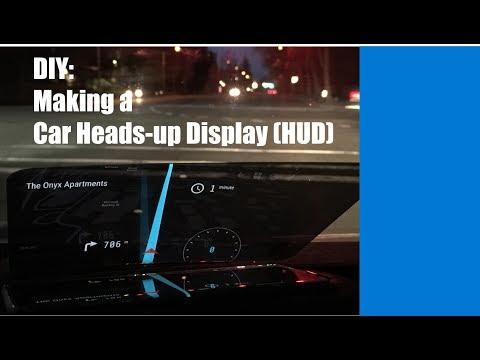 DIY: Making a Car HUD display