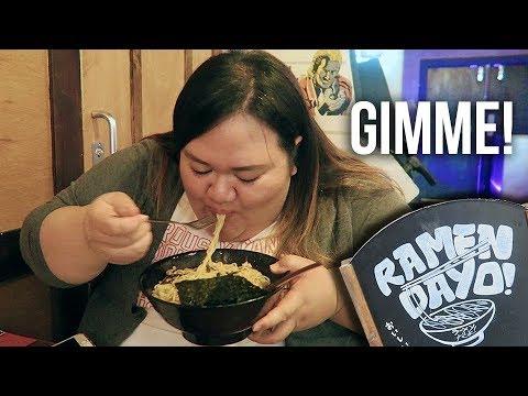 GLASGOW FOOD TOUR - The BEST ramen in Scotland?   Ramen Dayo