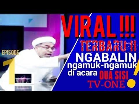 Ngabalin Ngamuk di acara Dua Sisi TVOne (1)