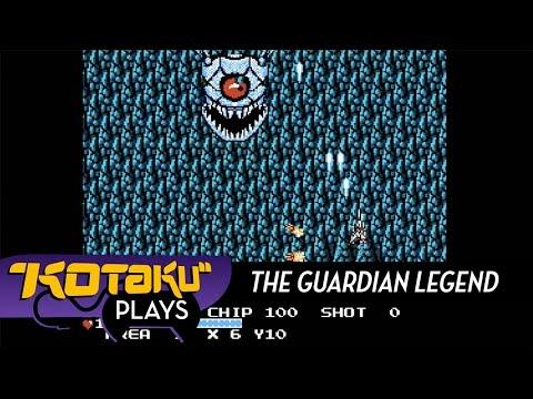 Vintage Game Stream: The Guardian Legend (NES)