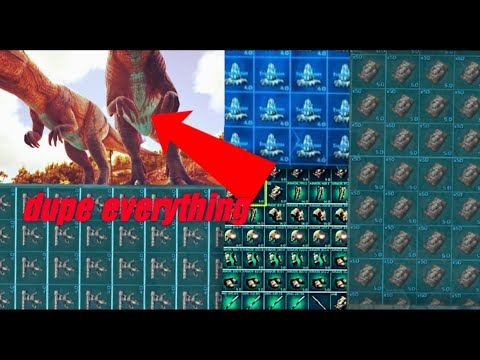 OMG this new glitch allows you to dupe everything!!!(ark:official server)(fully explained)