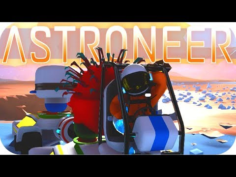 Astroneer Gameplay: UPDATED BUGGY HANDLING ▶EXCAVATION UPDATE◀  Let's Play Astroneer #2