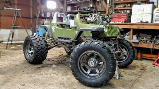 990cc 4X4 Power Wheels Jeep Build Part 2