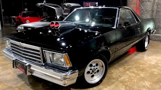 Hermosa Bestia Chevrolet El Camino en Venta de Clasicos Netmotors Garage Autos Antiguos y Colección