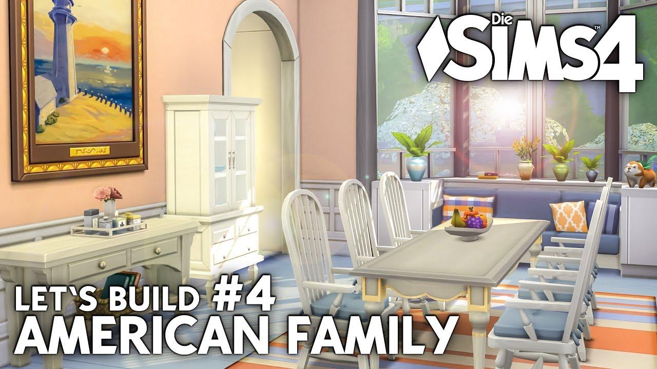 Die Sims 4 Haus bauen   American Family #4: Esszimmer ...